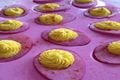 How to Make Pink Deviled Easter Eggs