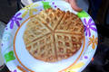 How To Make Outdoor Cast Iron Humboldt Smokey Cheddar Waffles