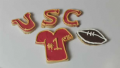 Tips To Decorate Cookies For A University Of Southern California Game