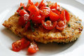 How To Make Italian Fast Food: Fried Turkey Cutlets with Tomatoes and Oregano