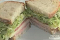 Simple Italian Style Sandwich