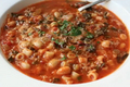 How To Make Italian Vegetable And Pasta Soup - Minestrone Soup