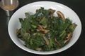 Kale And Shiitake Mushrooms