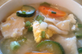 Korean Food: Sujebi Dumpling Soup 