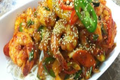 Korean Spicy Stir-fried Shrimp with Somyeon