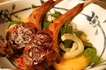 How To Make Luscious Lamb Lollipops With Blackberry Reduction Sauce