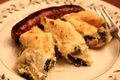 Leftover Artichoke  And Spinach Dip Stuffed Shells
