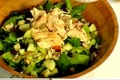 How To Make Leftover Turkey and Apple Romaine Salad