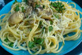 Pantry Cooking: Lemon Butter Mushroom Spaghetti