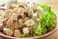 Lemon Poppyseed Garlic Chicken Salad