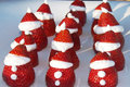 How To Make Little Strawberry Santa's