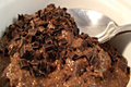 Low-carb Chocolate Chia Pudding