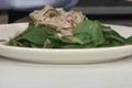 Low-Fat Crab Salad Dressed with Grapefruit Mint Citronette