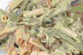 Low-fat Penne and Smoked Salmon Salad