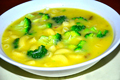 Creamy Broccoli and Macaroni Soup