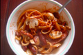 How To Make Neapolitan Spaghetti with Mushrooms and Weenies