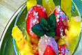 How To Make Mango, Strawberry And Pineapple Delight
