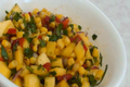 How To Make Corn And Mango Salsa