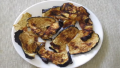 Brinjal/Eggplant Chips in Microwave
