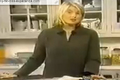 Martha Stewart Baking Cookies for Cookie Monster