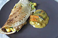 How To Make Oats Masala Dosa-stuffed Chickpea Crepe