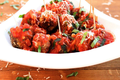 Mini Spicy Ricotta Meatballs