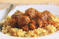 How To Make Mini Lamb Meatballs In A Spicy Eggplant Tomato Sauce