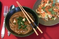 How To Make Miso Soup With Mushrooms With Carrot-celery Salad