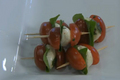 How To Make Skewered Caprese Salad
