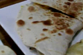 Homemade Mushroom And Cheese Quesadilla