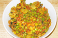 How To Make Mushroom And Peas Curry
