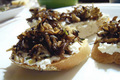 How To Make Mushroom And Ricotta Bruschetta
