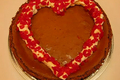 My Valentine Chocolate Cheesecake