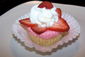No Bake Mini Strawberry Cheesecakes