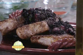How To Make Pork Loin With Herbed Blueberry Sauce