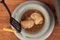 How To Make Easy Onion Soup with Bacon and Swiss Cheese Crostini