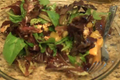 Orange Almond And Lettuce Salad