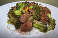 Orange Beef With Broccoli Stir Fry