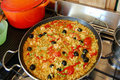 Vegetable Barley Paella