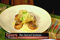 Pan Seared Scallops with Parsnip Puree