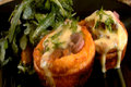 How To Make Pan Seared Striploin In Yorkshire Puddings With Bearnaise Sauce And Roasted Pear And Arugula Salad