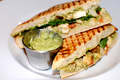 How To Make Low-fat Chicken And Pesto Panini