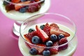 Buttermilk Panna Cottage With Berries Recipe