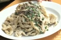 Tasty Pappardelle with Spring Peas and Mushrooms