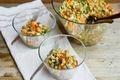 How To Make Papaya, Chickpea and Feta Salad