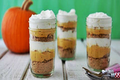 Pumpkin Pie Parfaits - Easy Thanksgiving Desserts