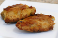 Parmesan Crusted Baked Chicken Thighs