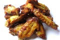Parmesan Mustard Chicken Wings