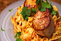 How To Make Pico De Gallo Pasta With Seared Scallops