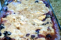 How To Make Peach And Blueberry Crumble